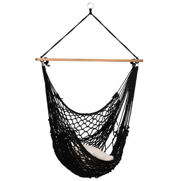 'Rope' Black Poltrona sospesa 1 posto