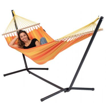 Easy & Relax Orange Amaca 1 posto con supporto