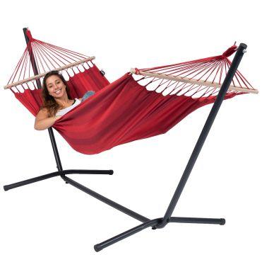 Easy & Relax Red Amaca 1 posto con supporto