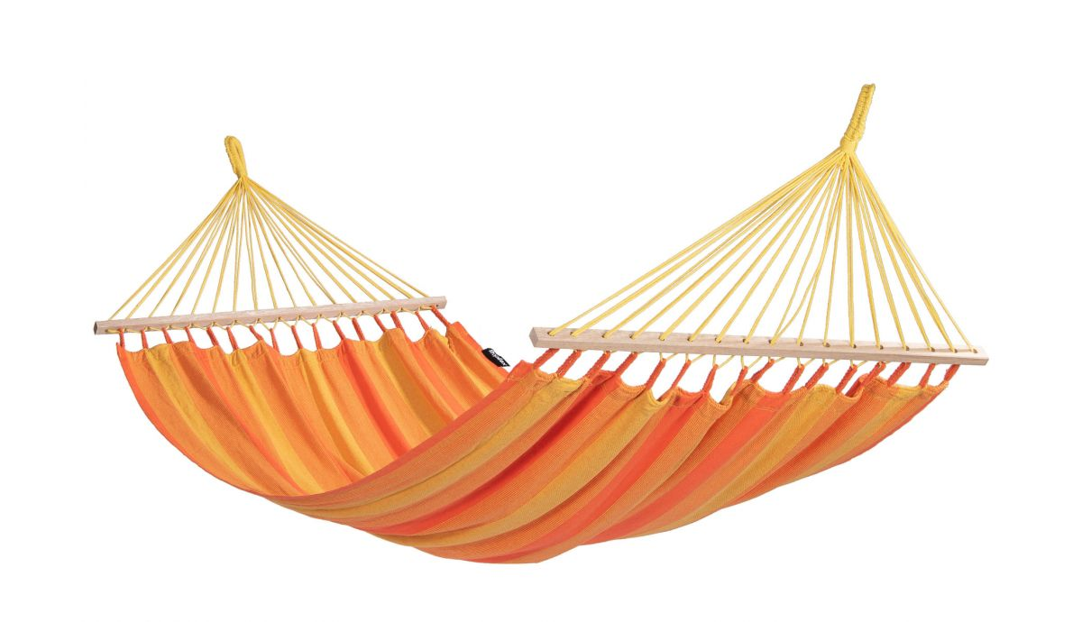 'Wood & Relax' Orange Amaca 1 posto con supporto