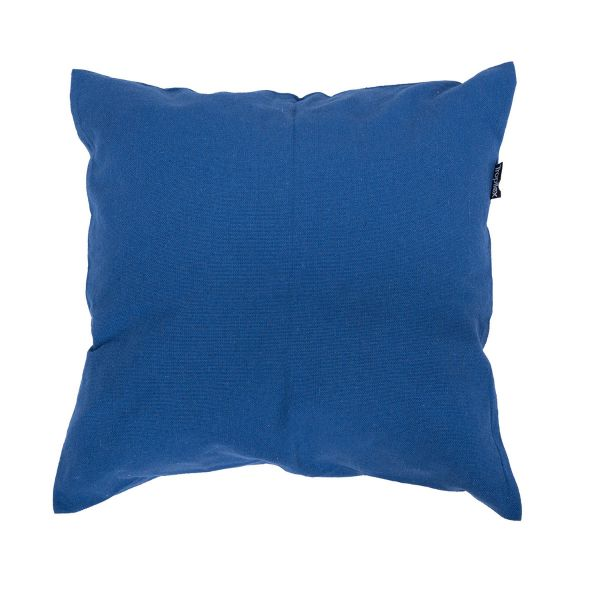 'Plain' Blue Cuscino