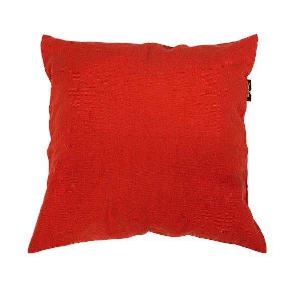 'Plain' Red Cuscino