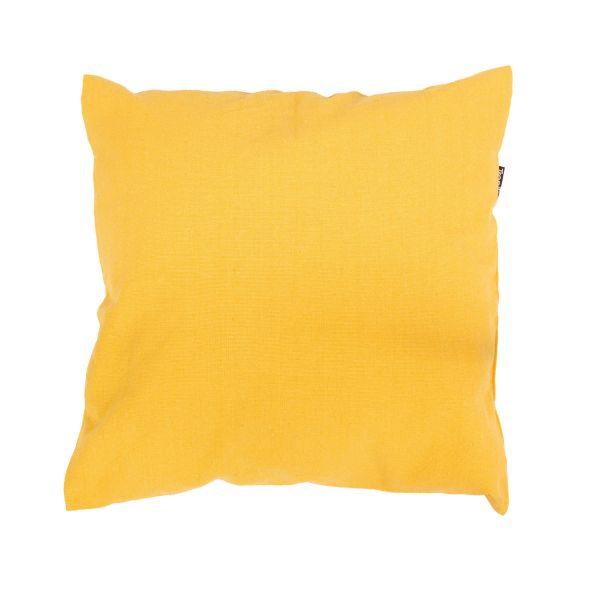 'Plain' Yellow Cuscino